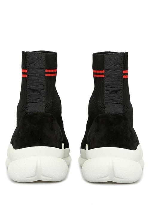 Waves Siyah Çorap Formlu Kadın Sneaker