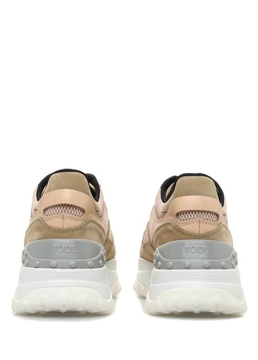 Somon Logolu File Dokulu Kadın Sneaker