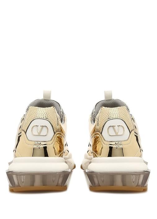 Silver Logolu Kadın Sneaker