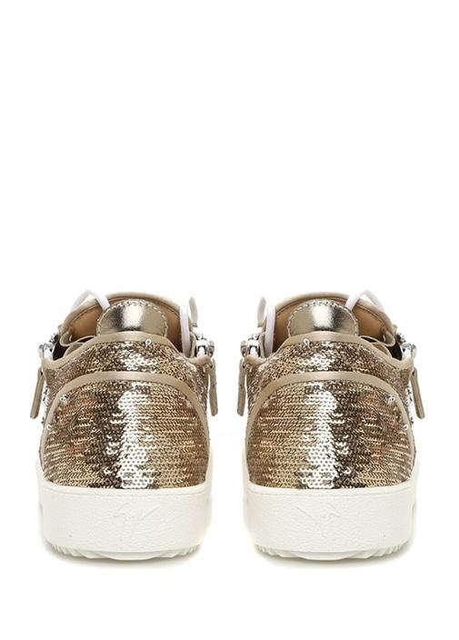 July Beyaz Siyah Kadın Kanvas Sneaker