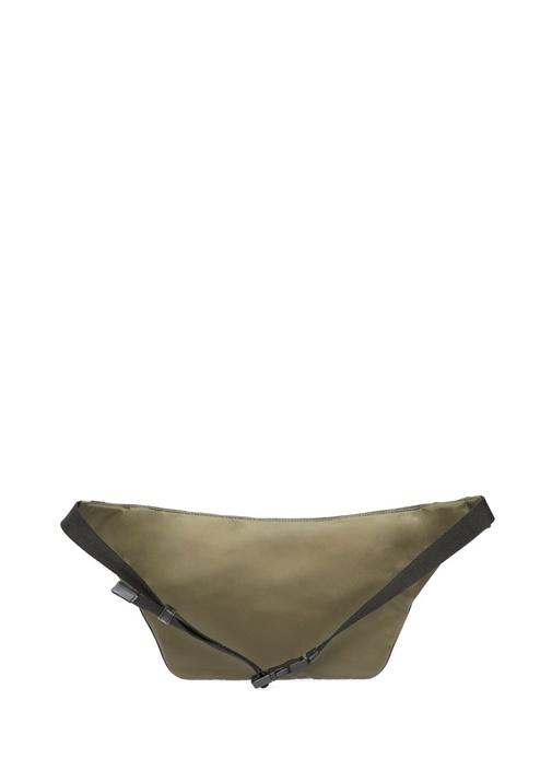 Haki Logo Kabartmalı Erkek Bel Çantası