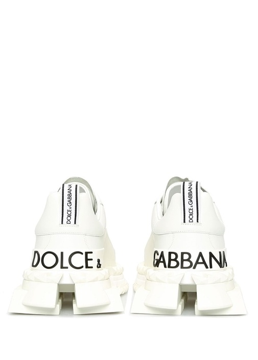 Super King Beyaz Erkek Deri Sneaker