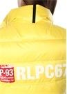 CP 93 Straight Fit Sarı Dik Yaka Puff Yelek