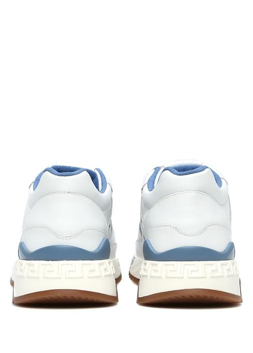 Achilles Mavi Beyaz Erkek Deri Sneaker