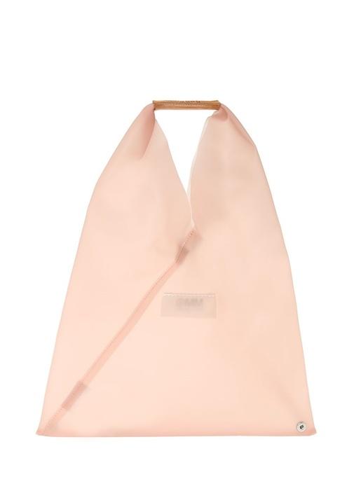 Japanese Small Pembe Kadın El Çantası