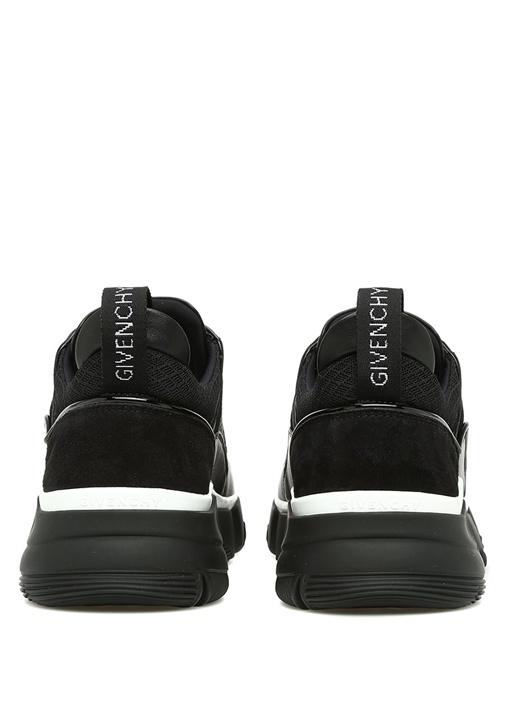 Jaw Siyah Beyaz Erkek Deri Sneaker