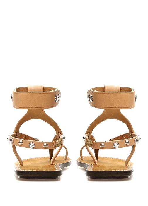 Engo Kamel Troklu Kadın Deri Sandalet