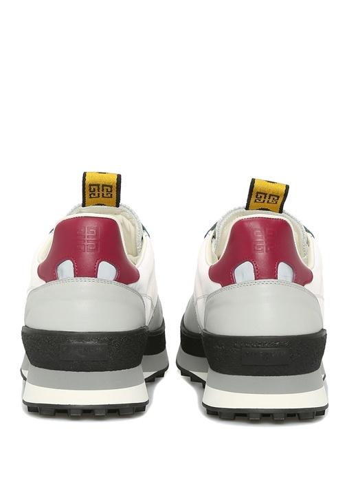 TR3 Gri Beyaz Erkek Deri Sneaker
