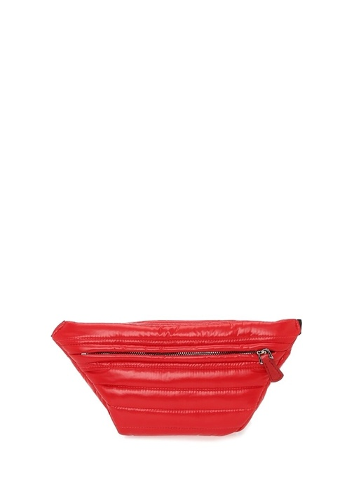 Felicie Kırmızı Logo Patchli Kadın Bel Çantası
