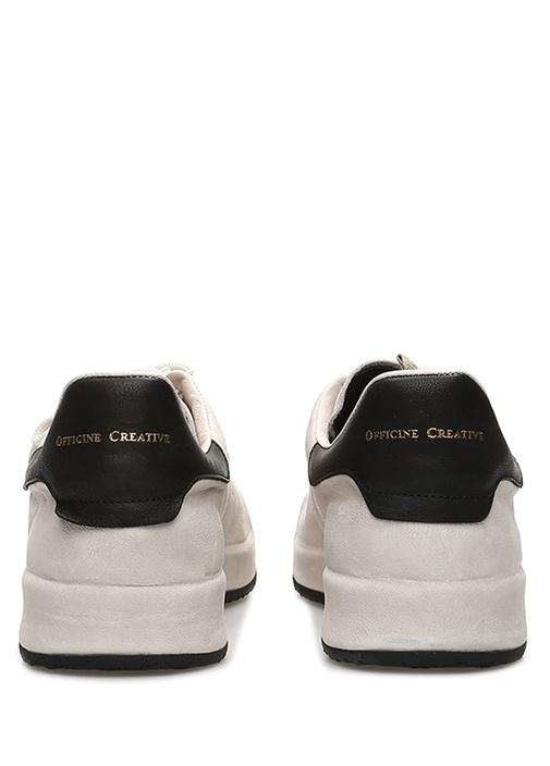 Ace Gri Siyah Erkek Deri Sneaker