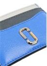 Lacivert Gold Logolu Kadın Deri Kartlık