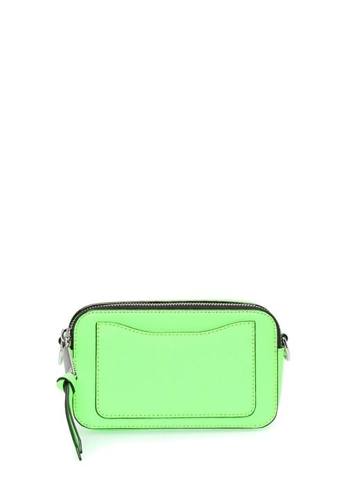 Snapshot Small Neon Yeşil Kadın Deri Çanta