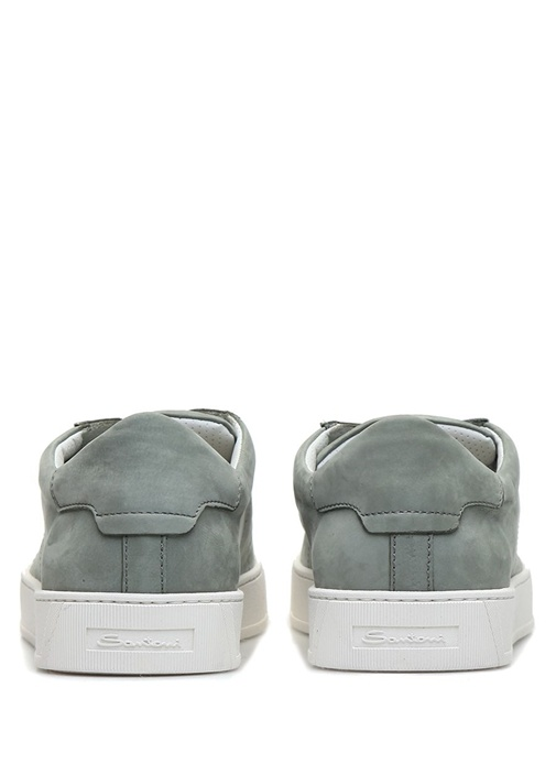 Haki Erkek Deri Sneaker