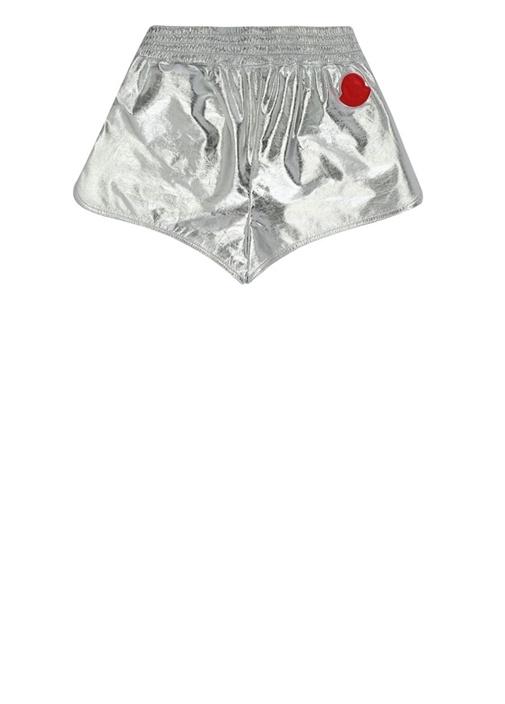 Silver Beli Lastikli Kız Çocuk Şort