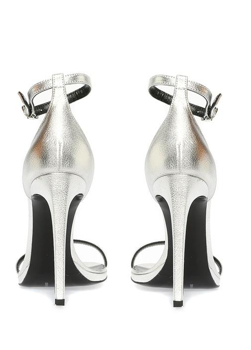 Silver Kadın Deri Sandalet