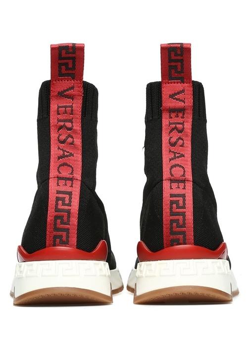Nastro Siyah Logolu Logo Şeritli Kadın Sneaker