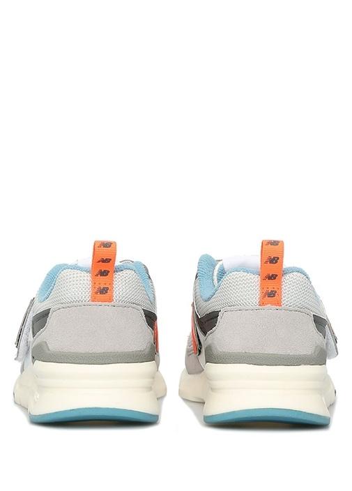 997H Pre School Gri Unisex Çocuk Süet Sneaker