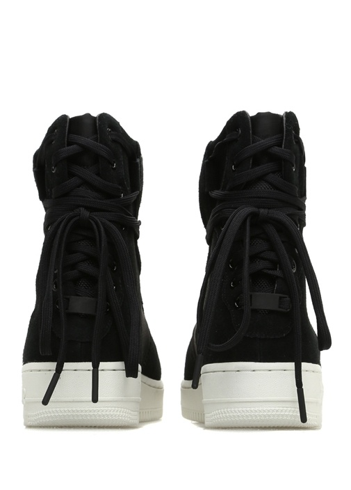 AF1 Rebel Siyah Bağcık Detaylı Kadın Sneaker