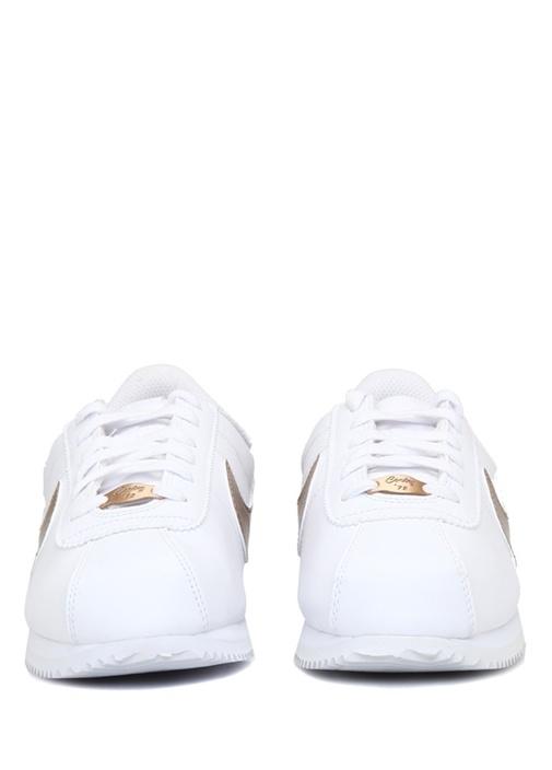 Cortez BasicBeyaz Unisex Çocuk Deri Sneaker