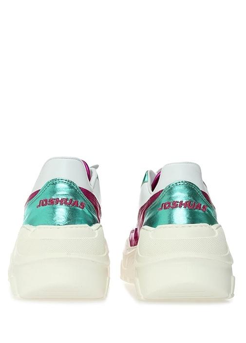 Irene Colorblocked Kadın Deri Sneaker
