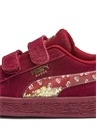 Sesame Street 50 Bordo Kız Bebek Süet Sneaker