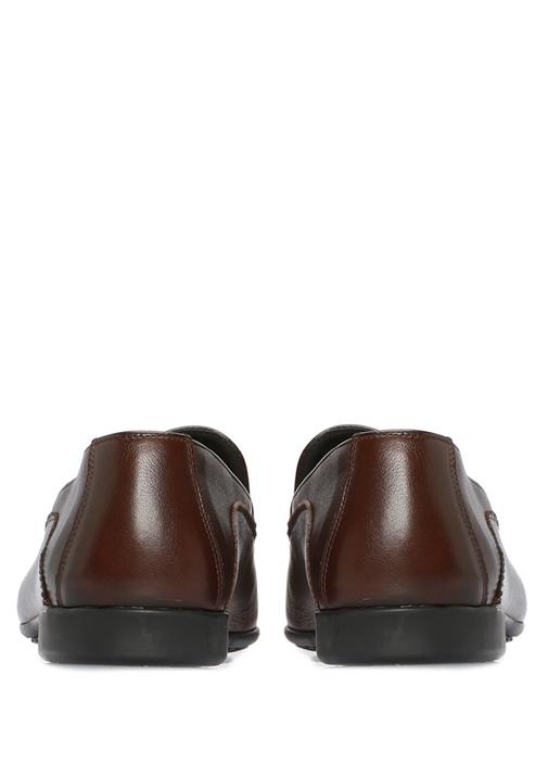 Giove Kahverengi Erkek Deri Loafer