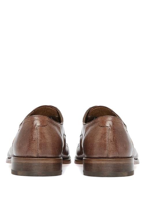 Kahverengi Erkek Deri Oxford Ayakkabı