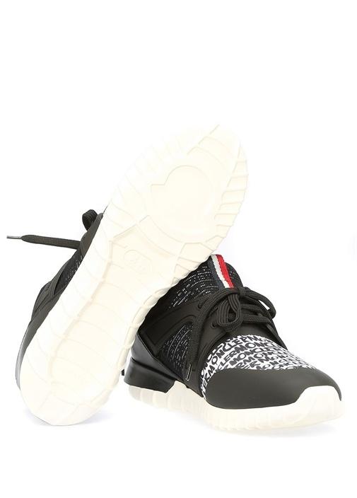 Meline Siyah Logolu File Detaylı Kadın Sneaker