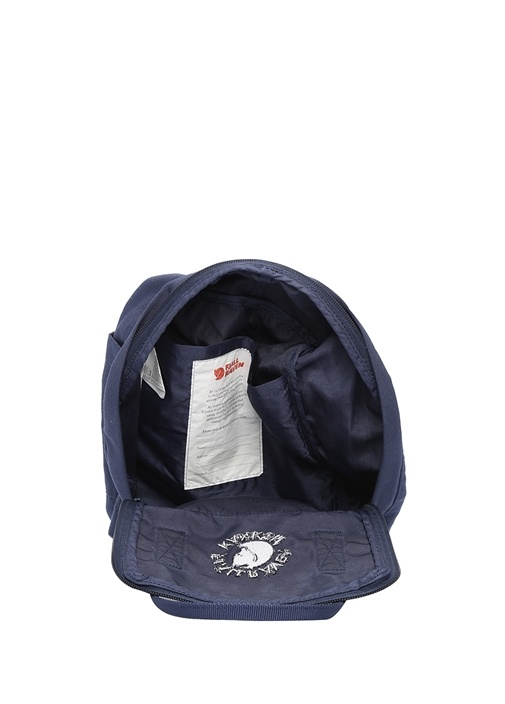 Lacivert Mini Lacivert Logolu Kadın Sırt Çantası