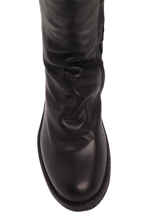 Evita Cusna Eva Strecth Deri Kadın Çizme