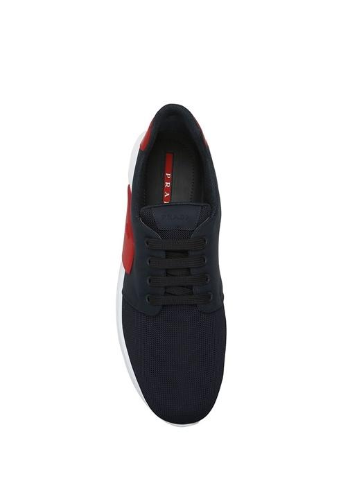 Siyah-Kırmızı Erkek Sneaker