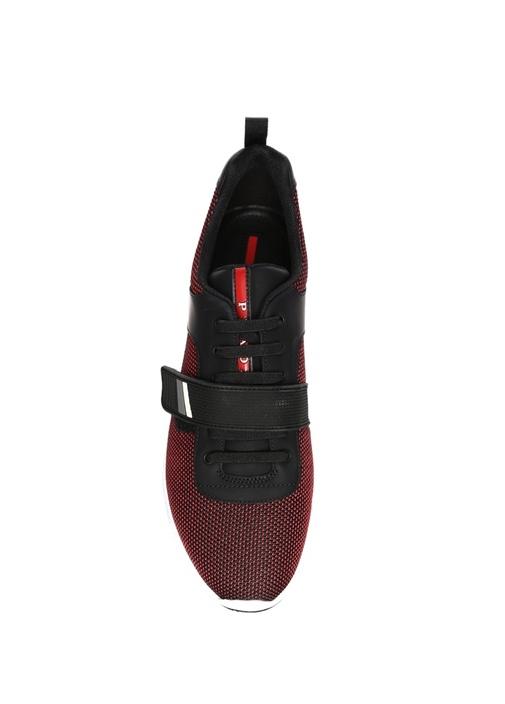 Siyah Bordo Erkek Sneaker