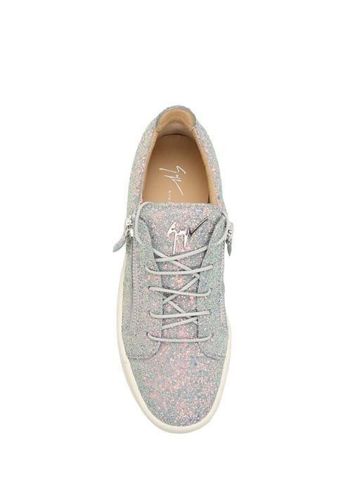 Gail Gri Deri Kadın Sneaker