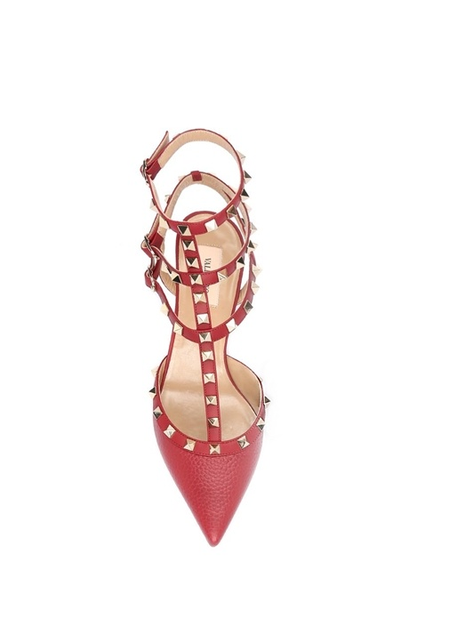 Valentino Garavani Kirmizi Topuklu Ayakkabı