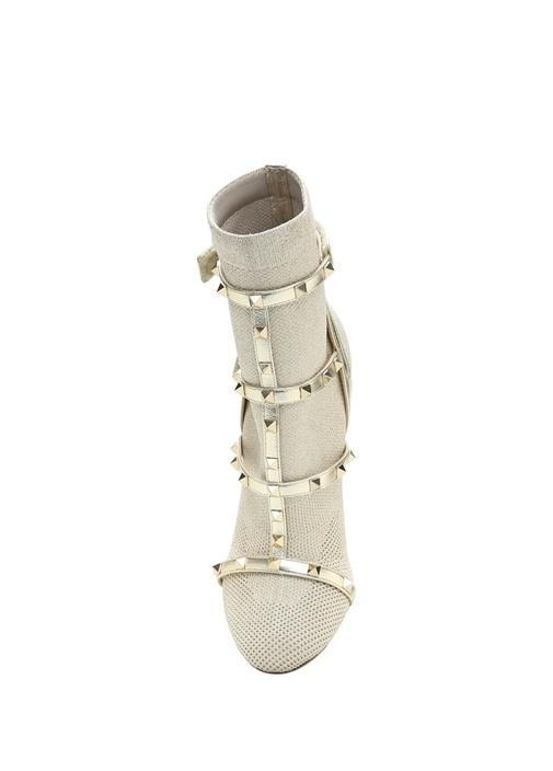 Bej Gold Çorap Formlu Bot