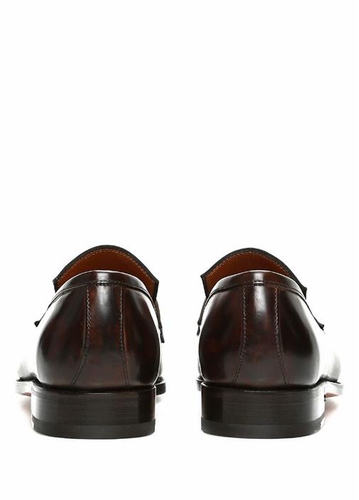 Tancredi Kahverengi Bantlı Erkek Deri Ayakkabı