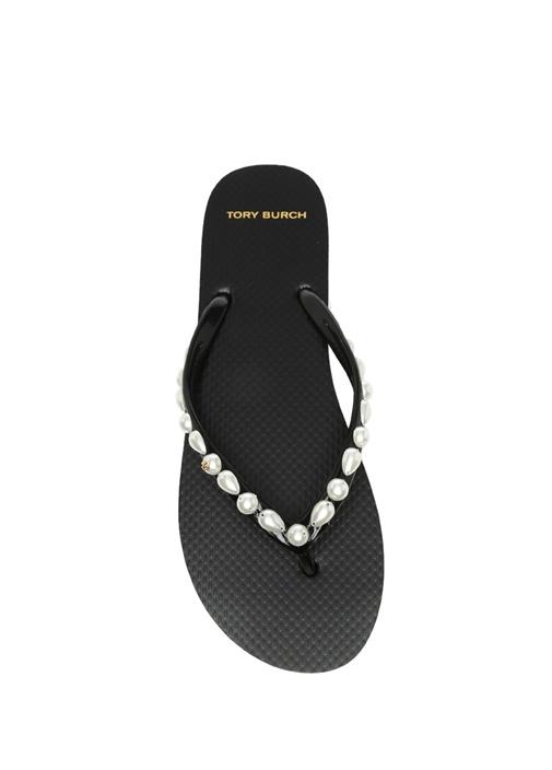 Siyah Pearl Thin Plaj Terliği