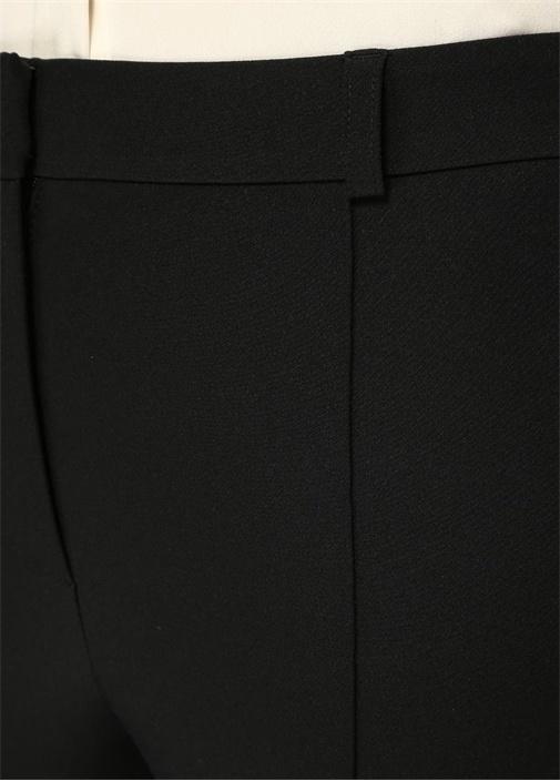 Siyah Kısa Bol Paça Tayt Pantolon