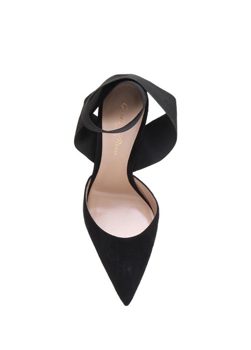 Beryl Siyah Kadın Süet Stiletto