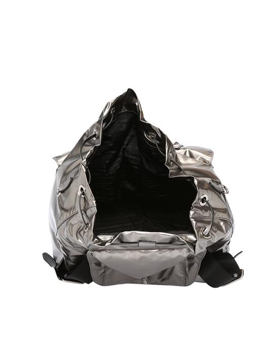 Silver Trok Detaylı Kadın Sırt Çantası