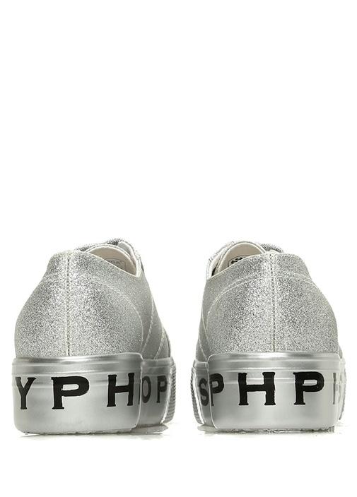 Silver Simli Tabanı Logolu Kadın Sneaker