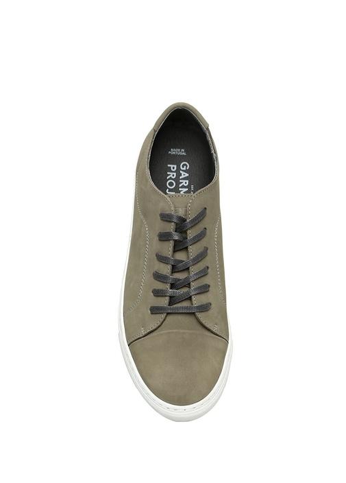 Classic Lace Gri Erkek Nubuk Sneaker
