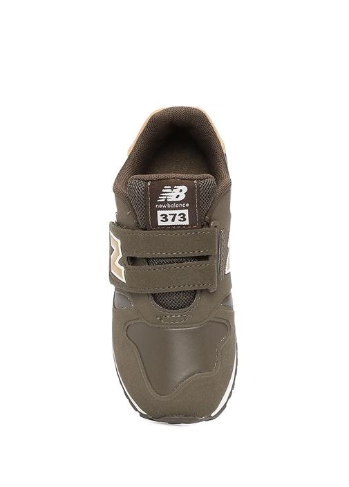 373 Haki Logolu Unisex Çocuk Sneaker