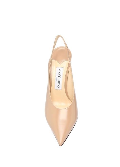 Ivy 85 Somon Deri Topuklu Ayakkabı
