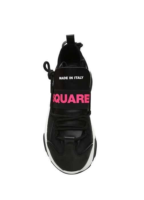 D Bumpy One Siyah Kadın Sneaker