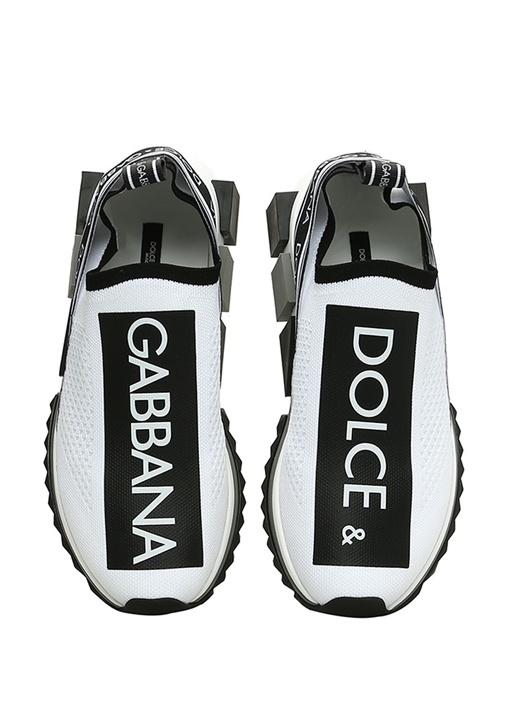 Sorrento Beyaz Topuk Detaylı Kadın Sneaker