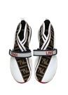 Fendi Mania Rockoko Beyaz Kadın Çorap Sneaker