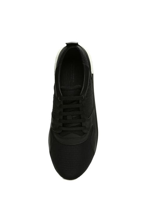 Grand Siyah Örgü Dokulu Erkek Sneaker