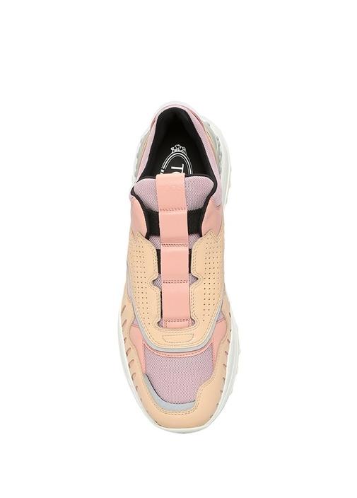 Pembe Garnili Kadın Sneaker