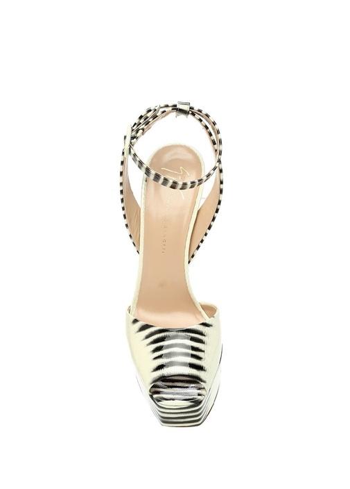 Betty Ekru Kadın Deri Gece Ayakkabısı